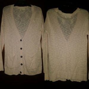 Light Pink Abercrombie Sweater Size L